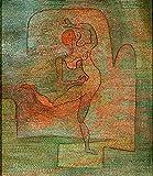Art-Galerie Digitaldruck/Poster Paul Klee - Tänzerin - 40