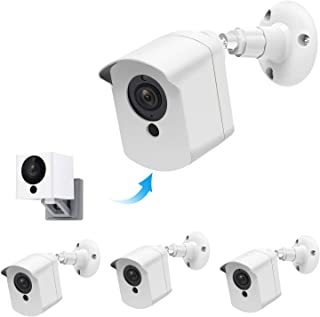 Wyze Cam Outdoor Mount,Upgraded Protective Weather Proof 360 Degree Adjustable Outdoor Indoor Wall Mount and Cover Case fo...