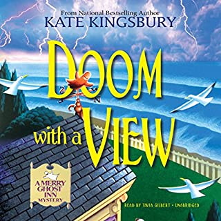 Doom with a View audiobook cover art