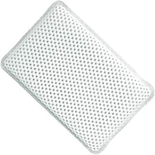 KUNXIAOY Non-Slip Waterproof Bathtub Pillow with 7 Powerful Suction Cups, for Any Size Bathtub Comfort Bath Pillows Bath Pillow Cushion