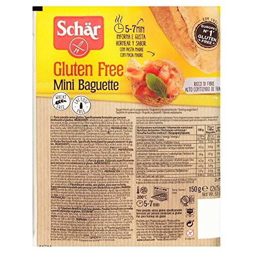 Schär Mini Baguette glutenfrei 150g, 7er Pack