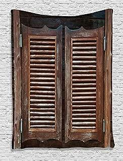 Best wooden swinging cafe doors Reviews