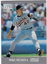 1991 Fleer Ultra Update #U-4 Mike Mussina Rookie Card - Hall of Famer - Orioles - Yankees