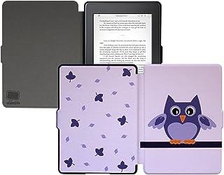 caseable Custodia per bambini per Kindle (8ª generazione - modello 2016), Purple Owl