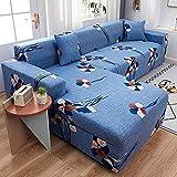 Funda de sofá con patrón de Color, Funda de sofá Universal elástica para sofá, Funda de protección para niños elástica para Mascotas, sofá Antiguo A9, 1 Plaza