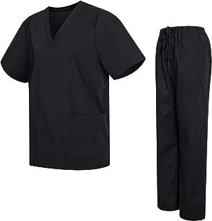 Uniformes Uno Médico Unisex con Casaca y Pantalones Sanitarios (Antilejía y No Destiñe)