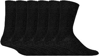6 pares hombre sin elasticos diabeticos calcetines para la circulacion