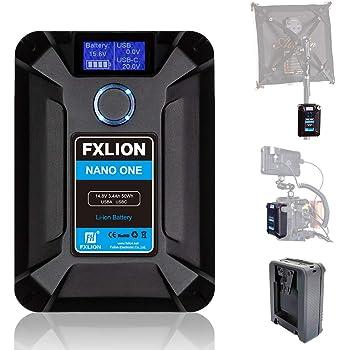 Moman FXLION V-Mount Batería Cargador con D-Tap, USB-C, USB-A ...