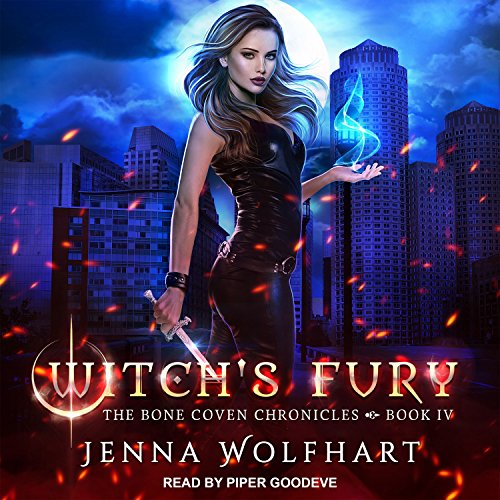 Witch's Fury audiobook cover art