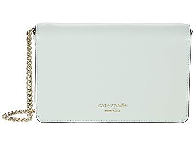 Kate Spade New York Spencer Chain Wallet (Crystal Blue) Handbags
