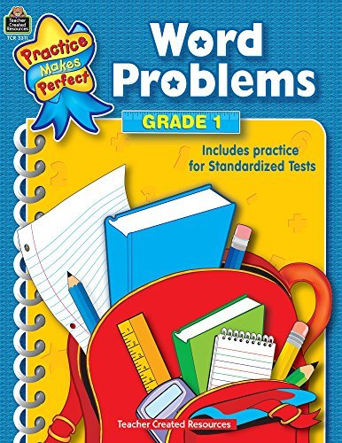 Word Problems Grade 1 (Mathematics) by Teacher Created Resources Staff (2002-03-01)