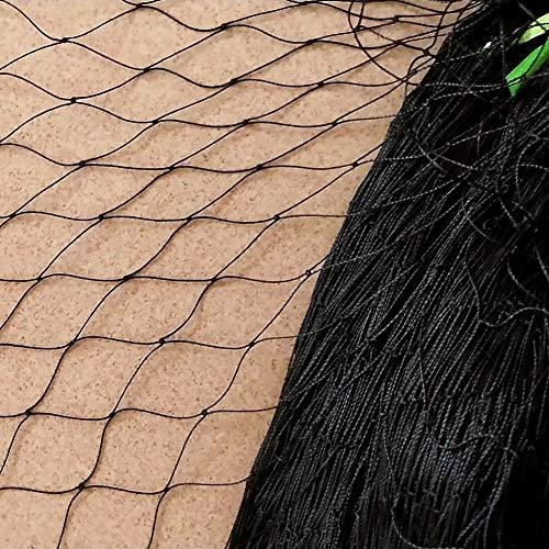 Yzki Filet de protection en maille anti-oiseaux et nuisibles pour plantes fruits et bassin 5 m de largeur x 10/15/25/30m de longueur