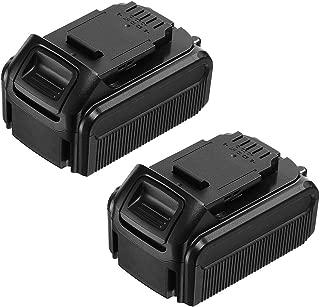 Replacement Dewalt 20v 5.6 Ah Battery for DEWALT DCB204 DCB205 DCB206 DCB205-2 DCB200 DCB180 DCD985B DCD771C2 DCS355D1 DCD790B 2-Pack