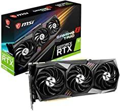 MSI Gaming GeForce RTX 3090 24GB GDRR6X 384-Bit HDMI/DP Nvlink Tri-Frozr 2 Ampere Architecture OC Graphics Card (RTX 3090 ...