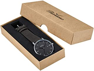 Charisma Dress Watch For Men Analog Leather - C1003GR