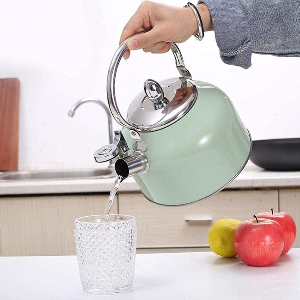KMatratze 2.5L Nippon regular agency Whistling Stove Top Kettle el Max 64% OFF Tea stainless steel