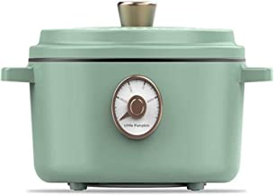 WYJW Mijoteuse 2L Rétro Poêle Électrique Travail Pot À Soupe Mijoteuse Compact avec Isolation Hot Pot Anti Convient pour L...