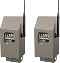 Cuddeback CuddeSafe J Series Trail Camera Security Boxes, 2-Pack: Protects Game Cams from Animals and Thieves