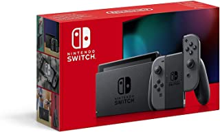 Nintendo Switch Extended Battery Life with Grey Joy‑Con