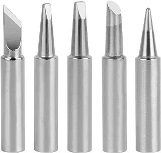 GeToo T18 Series Soldering Tip for Hakko FX-888D, FX-888, FX-8801, FX-889, FX-702 Irons Tips, Set of 5 Shapes
