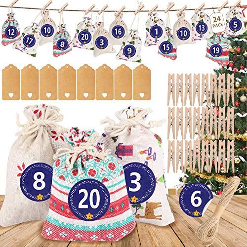 Etiquetas Navidad Regalo para Poner Nombre Marca ASANMU