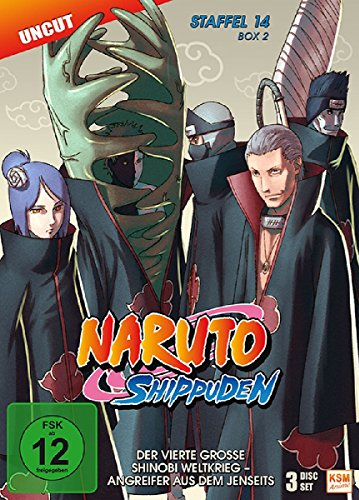 Naruto Shippuden - Staffel 14 - Box 2 (Folgen 529-540, Uncut) [3 Disc Set]