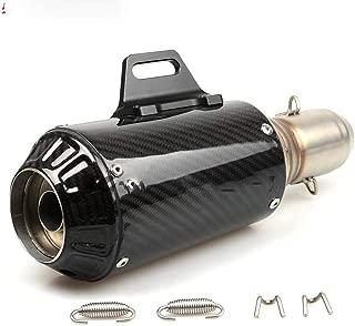 36-51mm Carbon Fiber Motorcycle Exhaust Muffler Modified Exhaust Pipe for Suzuki GSX-R GSXR 600 750 1000 K1 K2 K3 K4 K5 K6 K7 K8 Black