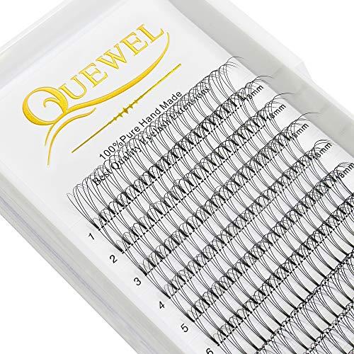 Quewel Russian Volume Extensions 3 D 0,07 D-curl 9,10,11,12,13,14,15 mm (3D 0,07 D-curl 11mm)
