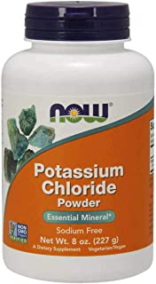 Now Foods Potassium Chloride Powder, 227g