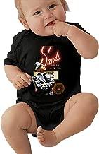 Frank Sinatra Classic Sinatra Special Black Short Sleeve Baby Creeping Suit