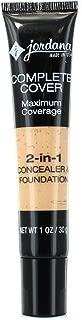 JORDANA Complete Cover 2-in-1 Concealer & Foundation - Natural Beige