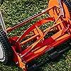 American Lawn Mower Company 1204-14 14-Inch 4-Blade Push Reel Lawn Mower, Red #4