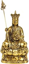 Fengshui Figurines Dizang Bodhisattva Buddha Statue The Tibetan King,Perfect Home Gift,Religious Supplies Prosperity Sculp...