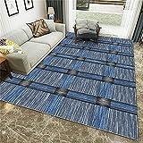 De Contorneada Lavables Moquetas,Té Varios delicados Grillat Línea Equidistant Line Imprimir Fácil de cuidar alfombras cortas-160x230cm