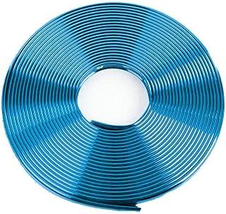LINYANMY 8M Car Alloy Wheel Rim Protectors /ï/¼/ŒTire Decorative Ring Anti-collision Strips Tyres Tire Guard Rubber Moulding