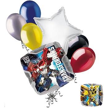 6 SG/_B00B9LCK7A/_US Amscan Transformers Latex Balloons