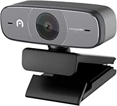 Azulle 1080p Full HD Webcam – Computer Desktop or Laptop Streaming Camera, Real-Time Video Recording with Autofocus and Du...