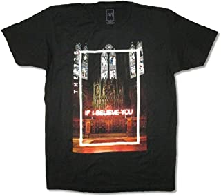 The 1975 If I Believe You Cathedral Black T Shirt
