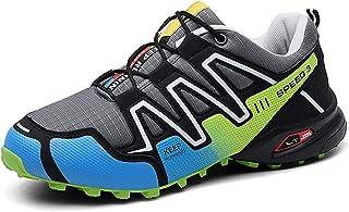 Men's hiking shoes De Secado rápido de los Hombres Botas de Senderismo-Impermeable Zapatos para Caminar, Suelas de Goma, Malla Abrigos, Zapatos de Exterior,