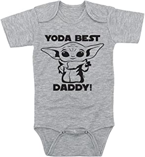 TeeNow - Yoda Best 'Relative' - Customizable Baby Infant Onesie/Bodysuit - Boy/Girl