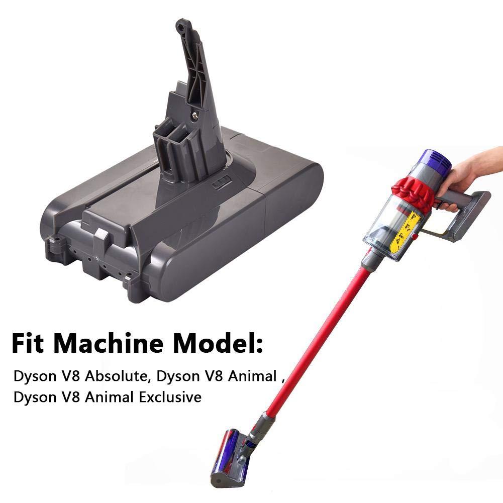 Yunt-11 Batería de Litio Batería de Repuesto para Dyson V8,21.6V 3500mAh Aspiradora sin núcleo Inalámbrico Stick Vacuum V8 Batería de aspiradora esponjosa: Amazon.es: Hogar
