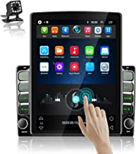 Podofo Double Din Car Stereo Android Head Unit 9.7 Inch Car Radio with GPS Car Entertainment Multimedia Player FM Radio Wi...