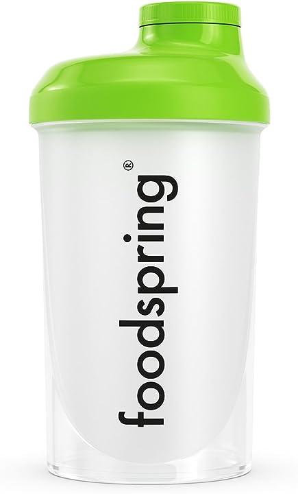 Shaker da 500ml foodspring - lo shaker perfetto per le tue proteine B073V2Q7V1