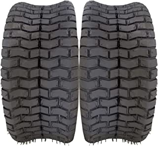 MILLION PARTS 16X6.50-8 ATV UTV Tires 4PR Tractor Garden Turf Lawn Cart Mower Tire (Pack of 2)