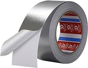 Aluminiumfolie Tape Hittebestendig,45mm x 25m Aluminium Tape,Hittebestendige Aluminium Afdichtingstape voor HVAC Reparati...