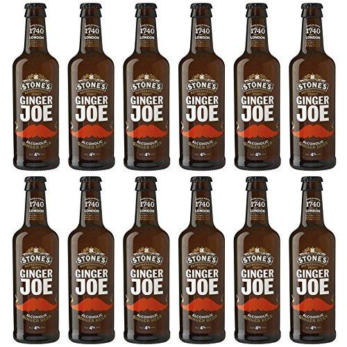 Stone's - Ginger Joe Beer 4% Vol. Ingwerbier Bier Cider Großbritannien England - 12x0,33l