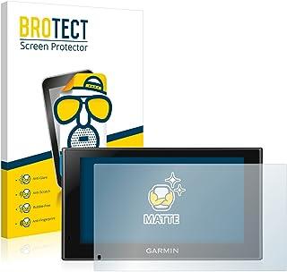 BROTECT 2x Antireflecterende Beschermfolie compatibel met Garmin Camper 660 LMT-D Anti-Glare Screen Protector, Mat, Ontspi...