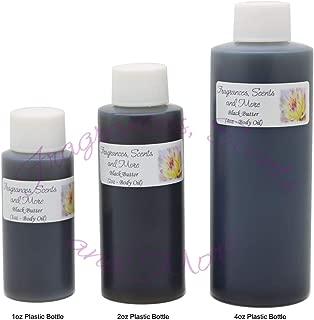 Black Butter Perfume/Body Oil (7 Sizes) - Free Shipping (4oz Plastic Bottle (120ml))
