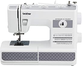 Brother RST531HD Refurbished Strong and Tough 53 Stitch Sewing Machine with Finger Guard, White