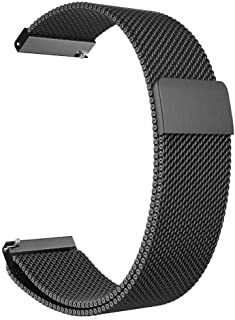 Gear S3 Frontier/Classic Watch Band, 22mm Milanese Loop Adjustable Stainless Steel Replacement Strap Bands for Samsung Gear S3 Classic / S3 Frontier Smart Watch